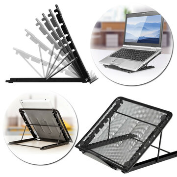 Adjustable Foldable Desktop Heat Dissipation Holder Desktop Stand For Macbook Tablet Laptop