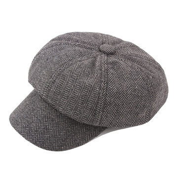 Newsboy Beret Cap Outdoor Casual Winter Cabbie Hat