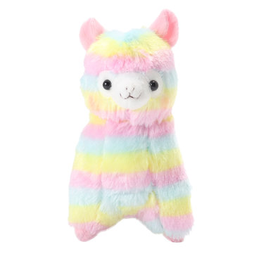 Hot Children Cute Rainbow Alpaca Stuffed Animal Plush Toys Soft Stuffed Animals Doll Baby Play