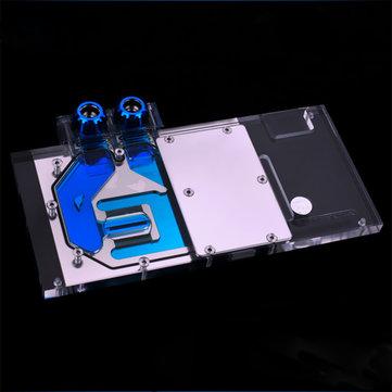 Bykski N-GX98-X GPU Water Cooling Block RGB Modules System PMMA+Copper for GTX980