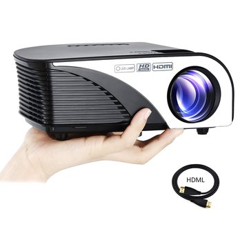 RD-805B projector Home Theater Cinema LED AV TV VGA Projector With US Plug