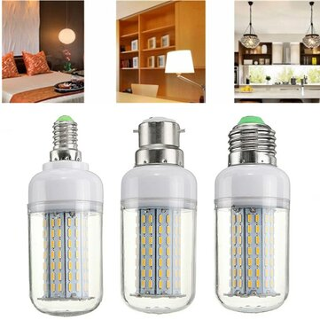 Dimmable E27 E14 B22 9W SMD4014 LED Corn Light Bulb AC220V