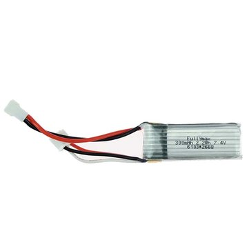 XK A800 4CH 780mm 3D6G System Glider RC Airplane Spare Part 7.4V 300mAh 20C Lipo Battery