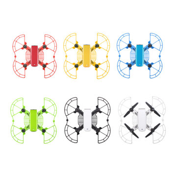 Anti-collision Ring Extended Tripod Finger Guard Sets RC Quadcopter Spare Parts For DJI SPARK