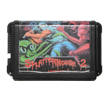 Splatter House 2 Game Cartridge 16 bit Game Card for Sega MegaDrive Genesis PAL NTSC System