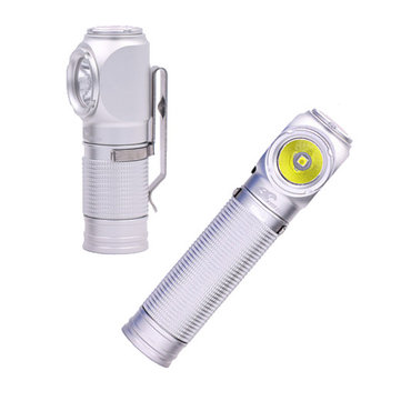 Eagle Eye X1R Non-anodized Version USB Rechargeable Portable EDC LED Flashlight 18650/18350 Magnetic Tail