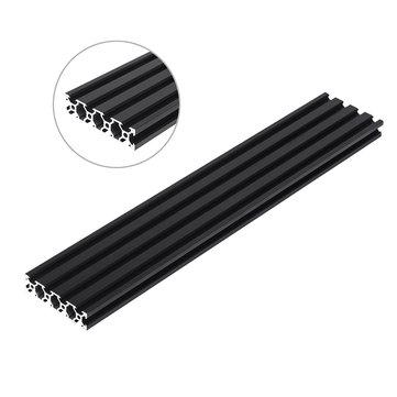 Machifit 200-1000mm zwart 2080 V-sleuf aluminium profiel extrusiekader voor CNC Tool DIY
