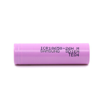 1PCS ICR18650-26HM 2600mAh Plate Head Rechargeable Li-ion Battery