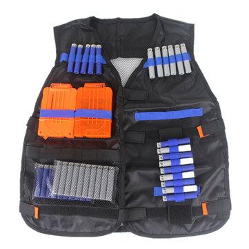 Tactical Vest Jacket Multi-Pocket Foam Motorcycle Riding Waistcoat