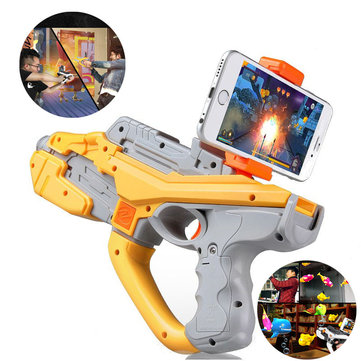 ABS Plastic AR Magic Launcher APP Software Games White Orange Color Novelties Toys