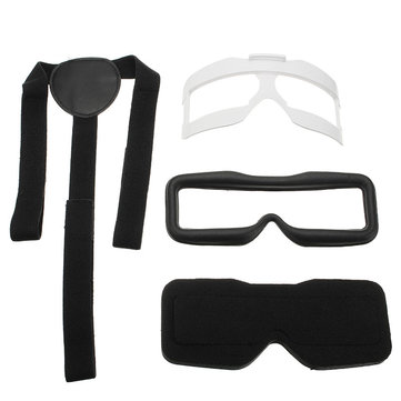 Skyzone SKY02S V+ FPV Goggles Accessory Face Plate Sponge Foam Pad Head Band Spare Part