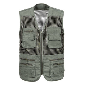 Quick Dry Multi Pockets Adventure Work Utility Outddor Vest