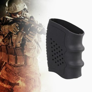Tactical Anti-slip Rubber Gun Grip Glove Cover Sleeve Hunting Handguns Airsoft Gun Accessories