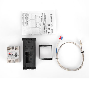 REX-C100 110-240V Digital PID Temperature Controller Kit