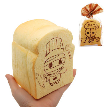 Sushi Toast Bread Squishy 14cm Slow Rising With Packaging Collection Gift Soft Toy
