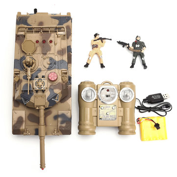 M1A2 RC Tank Toy Military Battle Vechile With Remote Control Rechargeable Battery