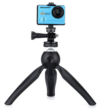 K3 Mini Tripod for Smartphone&Phone Holder Stand Mount for iPhone X 7 Canon Nikon Gopro Portable Selfie Camera Monopod Accessory Projector Tripod