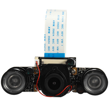 5MP 100 Degree Wide Angle Infrared Camera Module Night Vision IR-CUT For Raspberry Pi