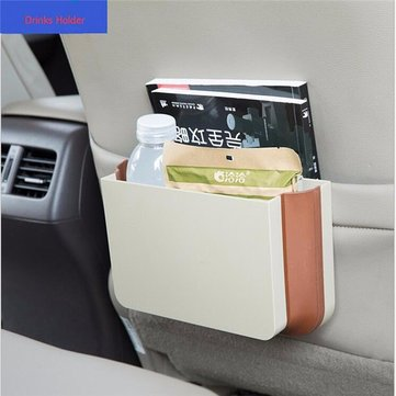 Car Folding Storage Box Hanging Style Rubbish Bin Car Interior Accessories Stowing Box