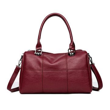 Women Classic PU Leather Handbag Crossbody Bag