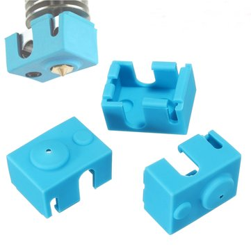 3PCS Silicone Case For V6 PT100 Aluminum Block 3D Printer Part Hot End