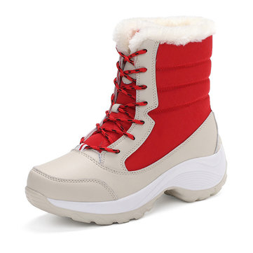 Lace Up Women Boots