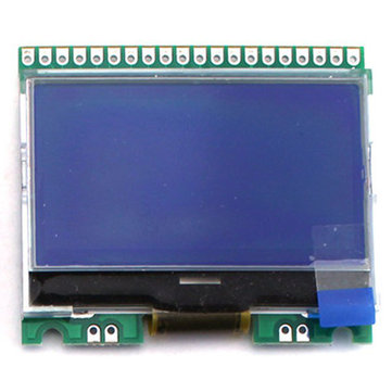 Original Hiland 12864 Screen For DIY M12864 Graphics Version Transistor Tester Kit