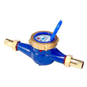 3/4 Inch 20mm Flow Measure Tape Cold Water Meter Home Garden Measuring Tool