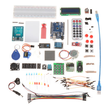 RFID Module Starter Kits For Arduino UNO R3 Upgraded Version Learning Suite