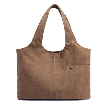 Women Quality Canvas Casual Large Capacity Handbag Shoulder Bag