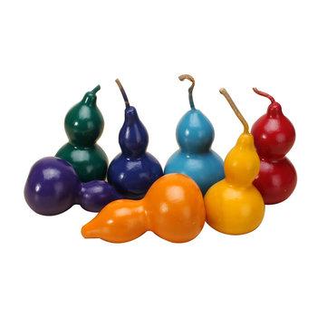 7pcs colorido juguete niños de calabaza decoración creativa