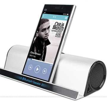 Portable Bluetooth Speaker with stand phone holder Speakers Bluetooth mini music play