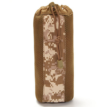 FAITH PRO Outdoor Camping Molle Water Bottle Pouch Kettle Bag Pack Carrier Holder
