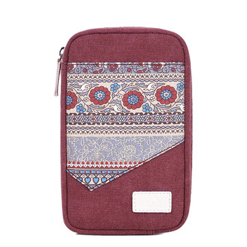 Women Canvas Data Line Storage Bag