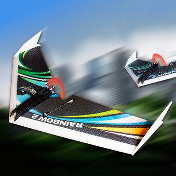 DW HOBBY Upgraded Rainbow Ⅱ 1000mm Ala EPP Ala Voladora RC Aeroplano KIT