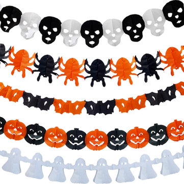 Mrosaa Halloween Pumpkin Paper Brocade Paper Art Decoration Toys