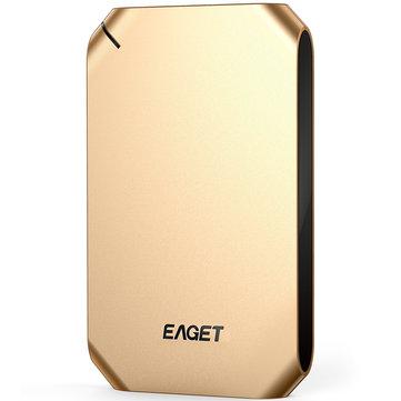 EAGET G60 500GB 1T USB 3.0 Hard Disk High Speed Shockproof External Hard Drive HDD for Desktop
