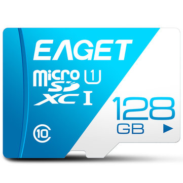 EAGET T1 Micro SD Card Memory Card 16GB/32GB/64GB/128GB Class 10