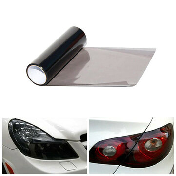30cmx60cm Car Light Smoke Sticker Tint Vinyl Film for Headlight Tail Lamp Fog Light
