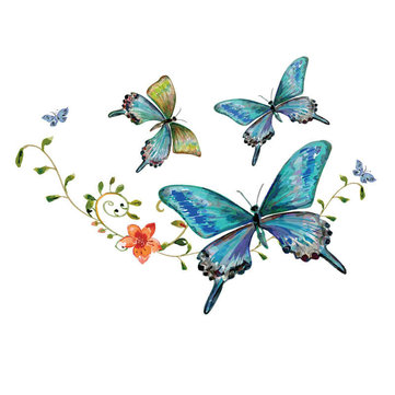 Ironing Transfers Patches Heat Press Stickers Butterfly Patch DIY Appliques Decor Sticker