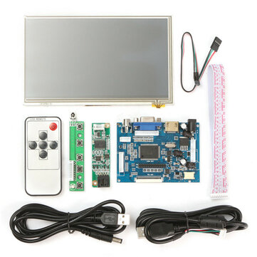 7 inch HD HD 1024x600 Touch Screen Display Module Board Kit For Raspberry Pi