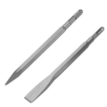 14mm SDS Plus Shank Sharp Chisel Flat Chisel for Electric Hammer Drill