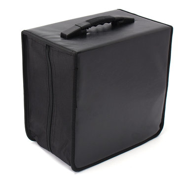 520 Discs CD DVD DJ Wallet Holder Bag Case Album Organizer Media Storage