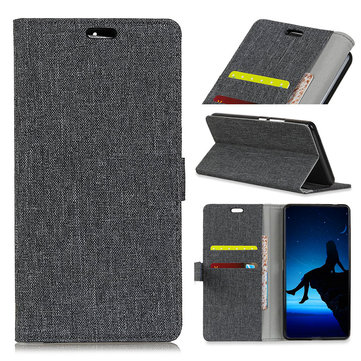 Flip Cloth Pattern Leather Full Body With Stand Protector Cover Case For DOOGEE BL5000