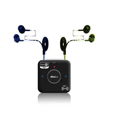 Binai G7 Plus HiFi Stereo Dual Audio Output bluetooth 4.2 + EDR Receiver Supports NFC Function