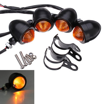 4x bullet turn signal lights for harley davidson softail sportster 4x bullet turn lights for harley davidson softail sportster fandeluxe Choice Image