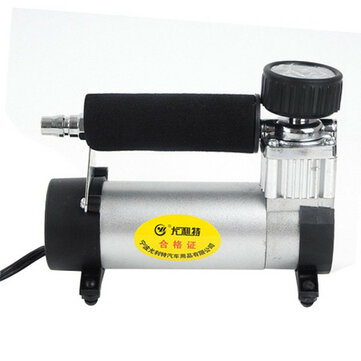 YD-3035 Car Compressor Tire Air Pump 12V Electric Portable Pump Inflator Auto Bicycle Basketball
