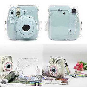 US$4.99 Transparent Camera Protective Cover Shoulder Bag Fujifilm Fuji Instax Mini 8 Photography & Camera Acc from Electronics on banggood.com