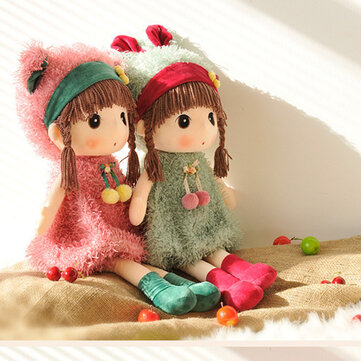 Metoo 40cm Large Cartoon Doll Mayfair Stuffed Plush Toy Wedding Rag Doll Christmas Gift Girl's Kids Birthday
