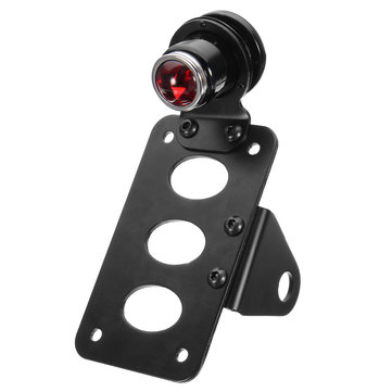 Motorcycle SidE Mount LED License Plate Taillight with Bracket For Harley Sportster